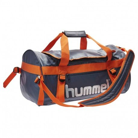 HUMMEL TECH SPORTS BAG / OMBRE BLUE/NASTURTIUM
