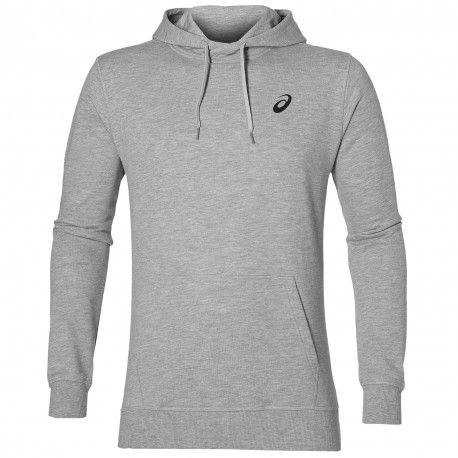 ASICS SPIRAL HOODY - Herren / Heather Grey
