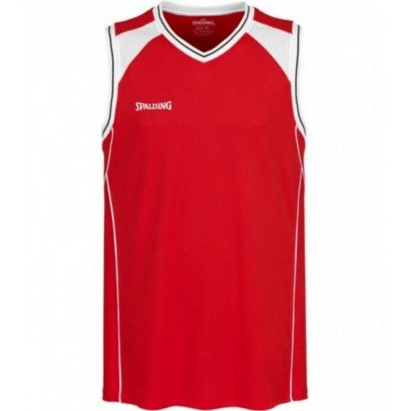 Spalding CROSSOVER TANK TOP / rot/weiß