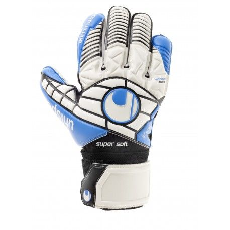 Uhlsport ELIMINATOR SOFT HN COMP / weiß/schwarz/energy blau