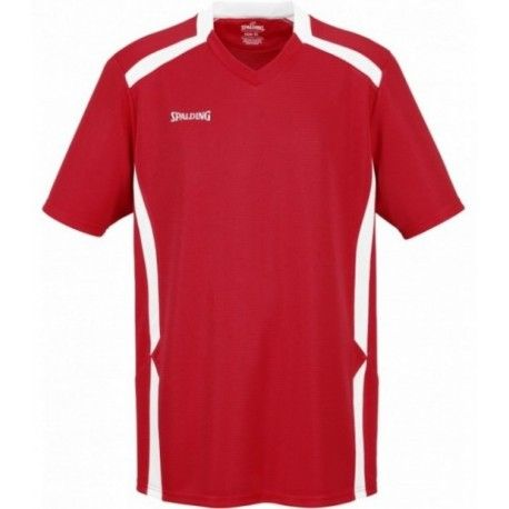 Spalding OFFENSE SHOOTING SHIRT / rot/weiß