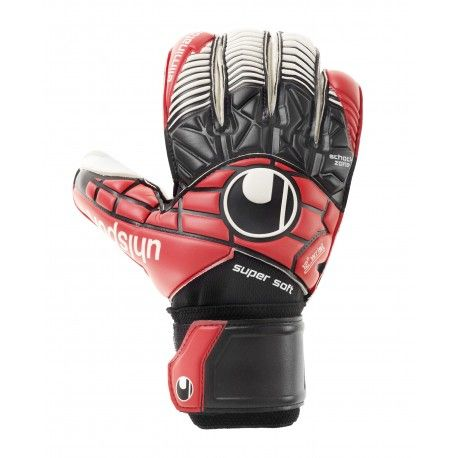 Uhlsport ELIMINATOR SUPERSOFT RF / schwarz/rot/weiß