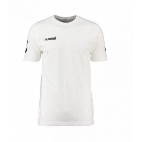 HUMMEL CORE COTTON TEE / WHITE
