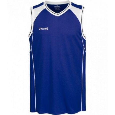 Spalding CROSSOVER TANK TOP / royal/weiß