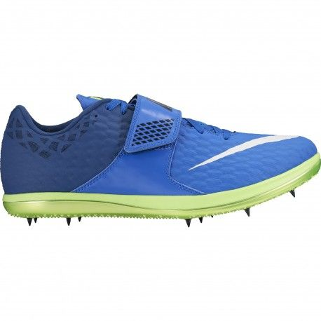 Nike High Jump Elite Track and Field Shoe / BLUE