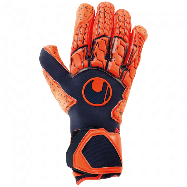 Uhlsport NEXT LEVEL SUPERGRIP HN / Uhlsport NEXT LEVEL SUPERGRIP HN / marine/fluo rot 2